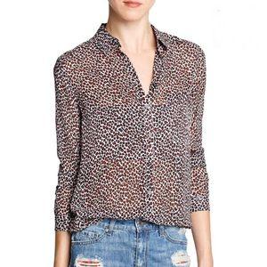 Light Weight Leopard Print Blouse Brand New Mango